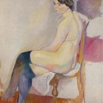 Jules-Pascin-Seated-Nude-with-Black-Stockings
